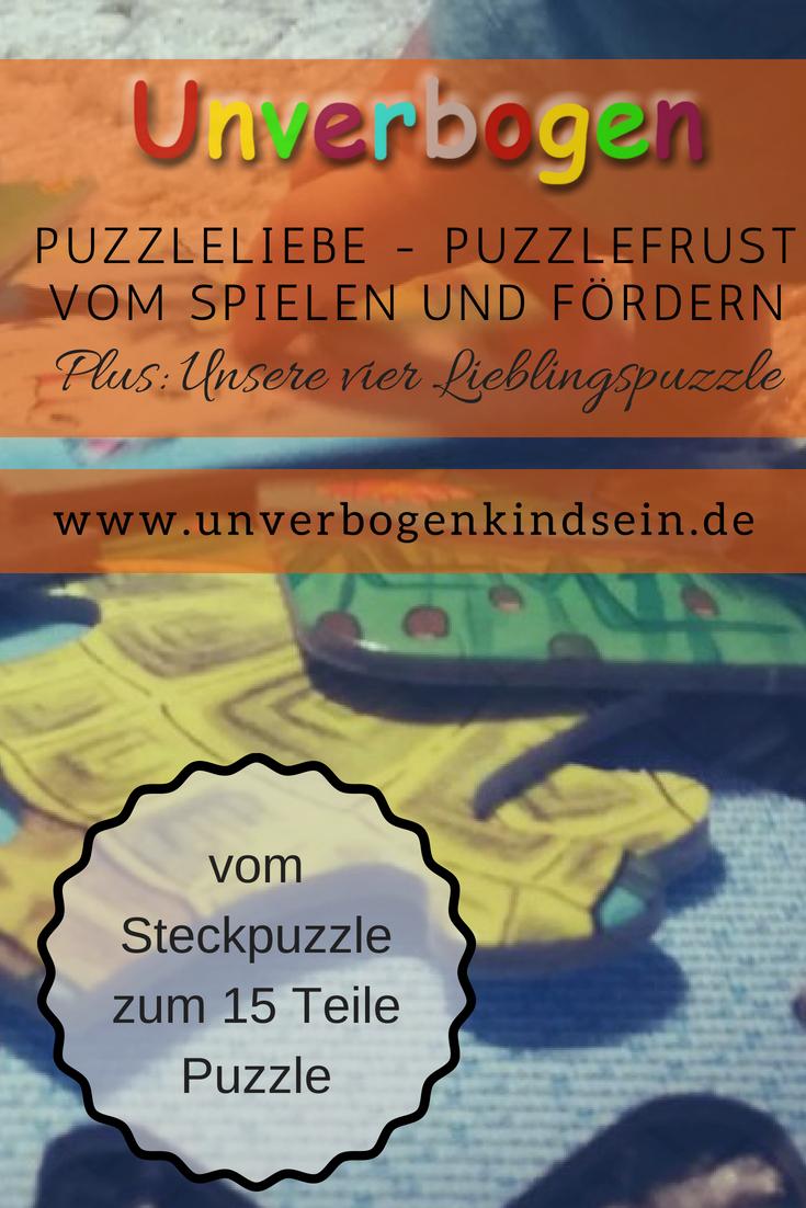 puzzleliebe puzzlefrust spielend lernen und fördern | unverbogen kind sein