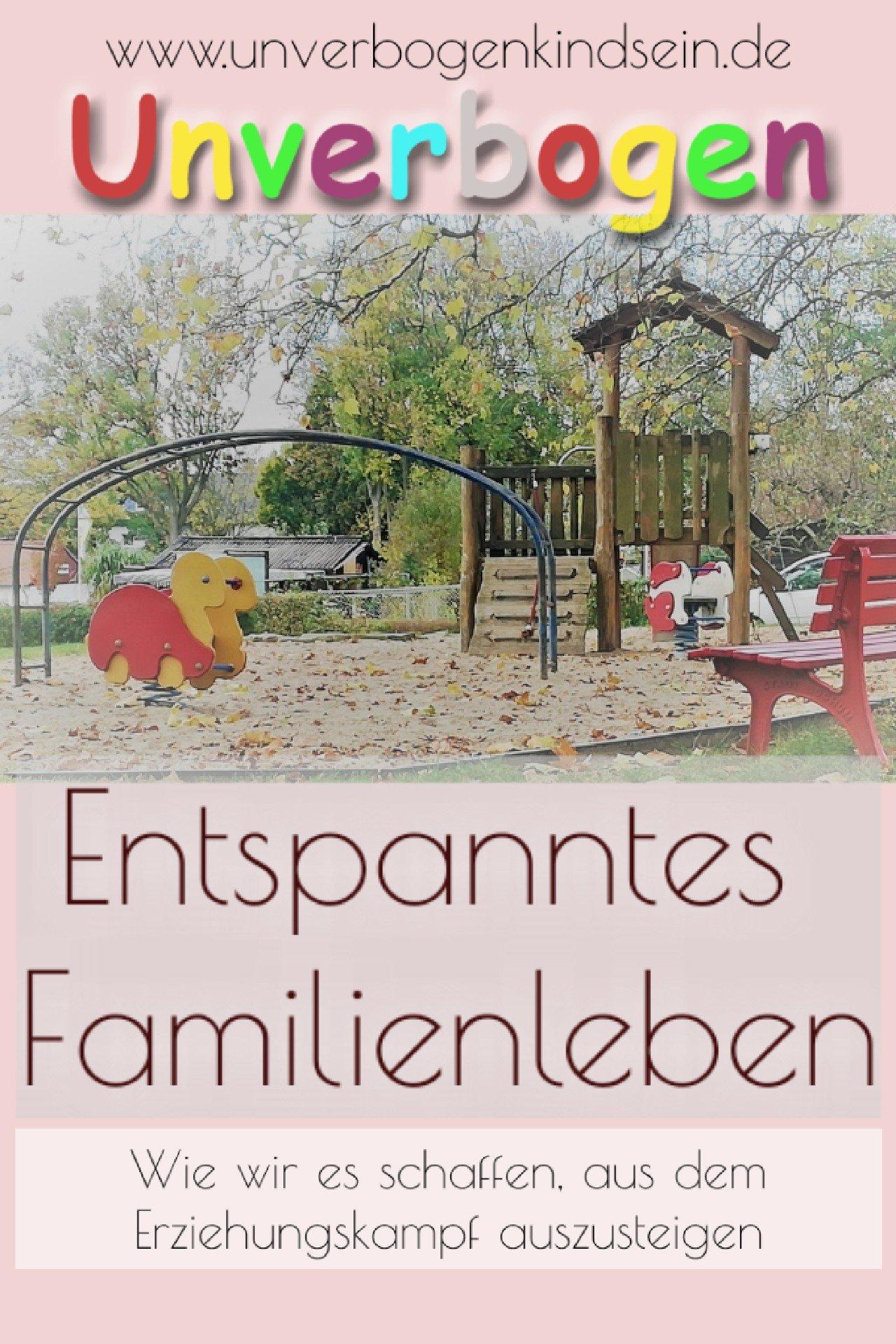 entspanntes familienleben | Pin Unverbogen Kind Sein