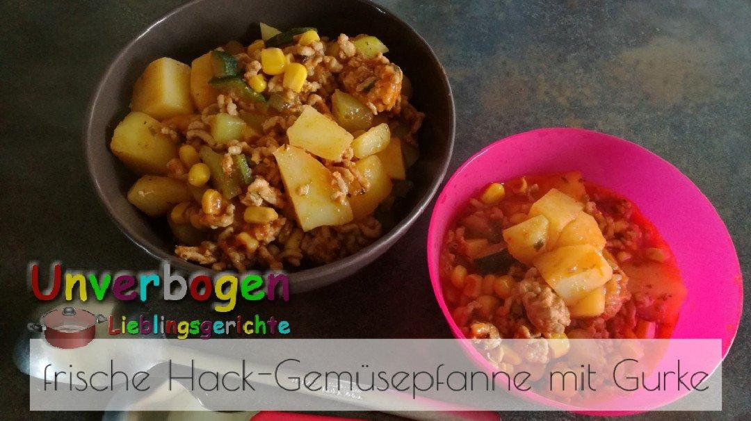 Rezept für Hack-Gemüsepfanne