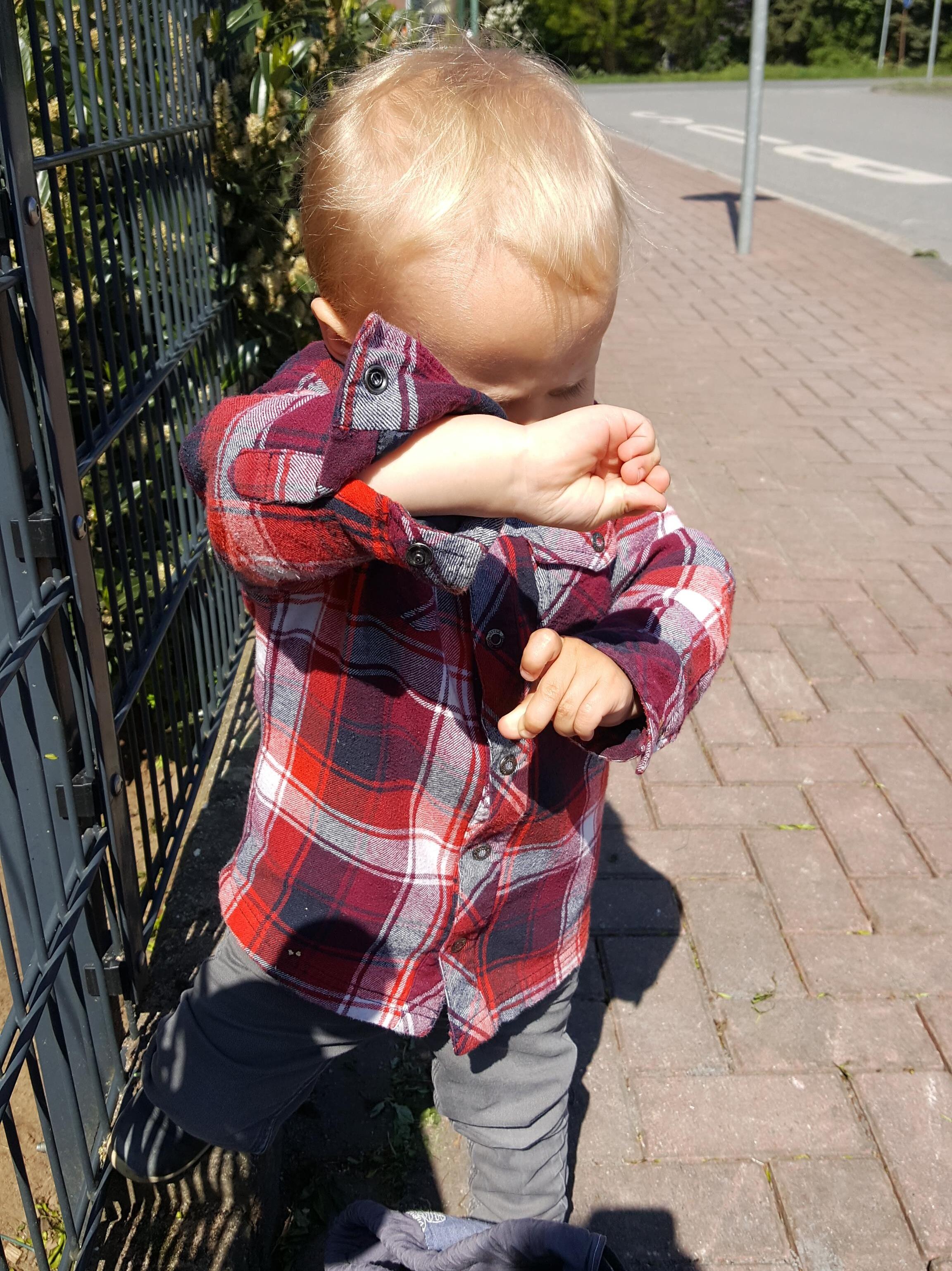 """Babyzeichen """"Fahrrad"""""""
