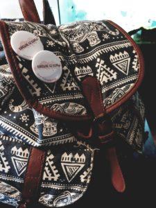 Die Tasche ist gepackt. #bindungsistbunt