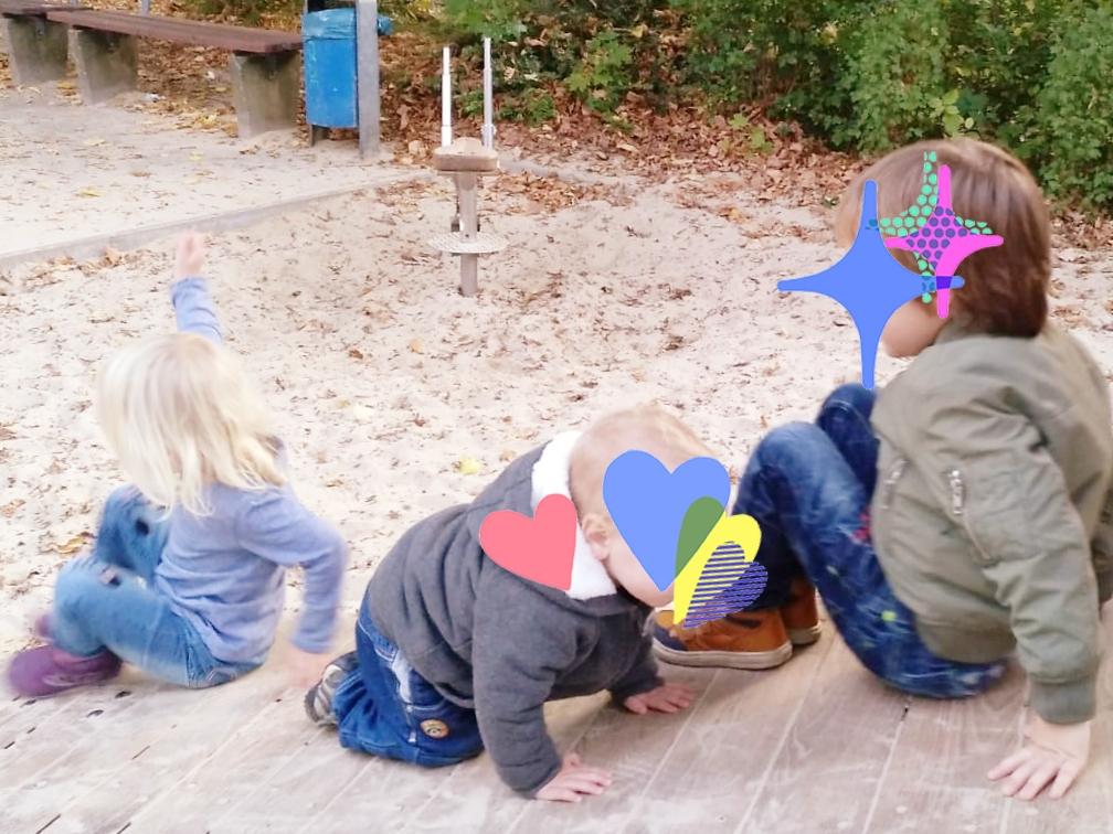 Ohne Kindergarten Freunde