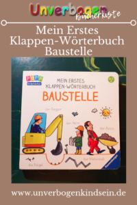Mein Erstes Klappen-Wörterbuch Baustelle Ravensburger Buchverlag #Buchrezension #kinderbuch #books