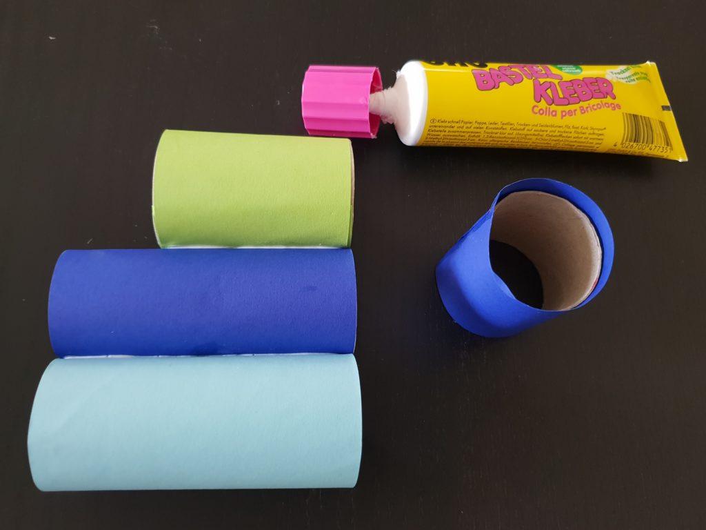 Stiftehalter Basteln fürs Kinderzimmer Schritt5