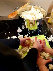 Rezept Gemüseeintopf - Helfer
