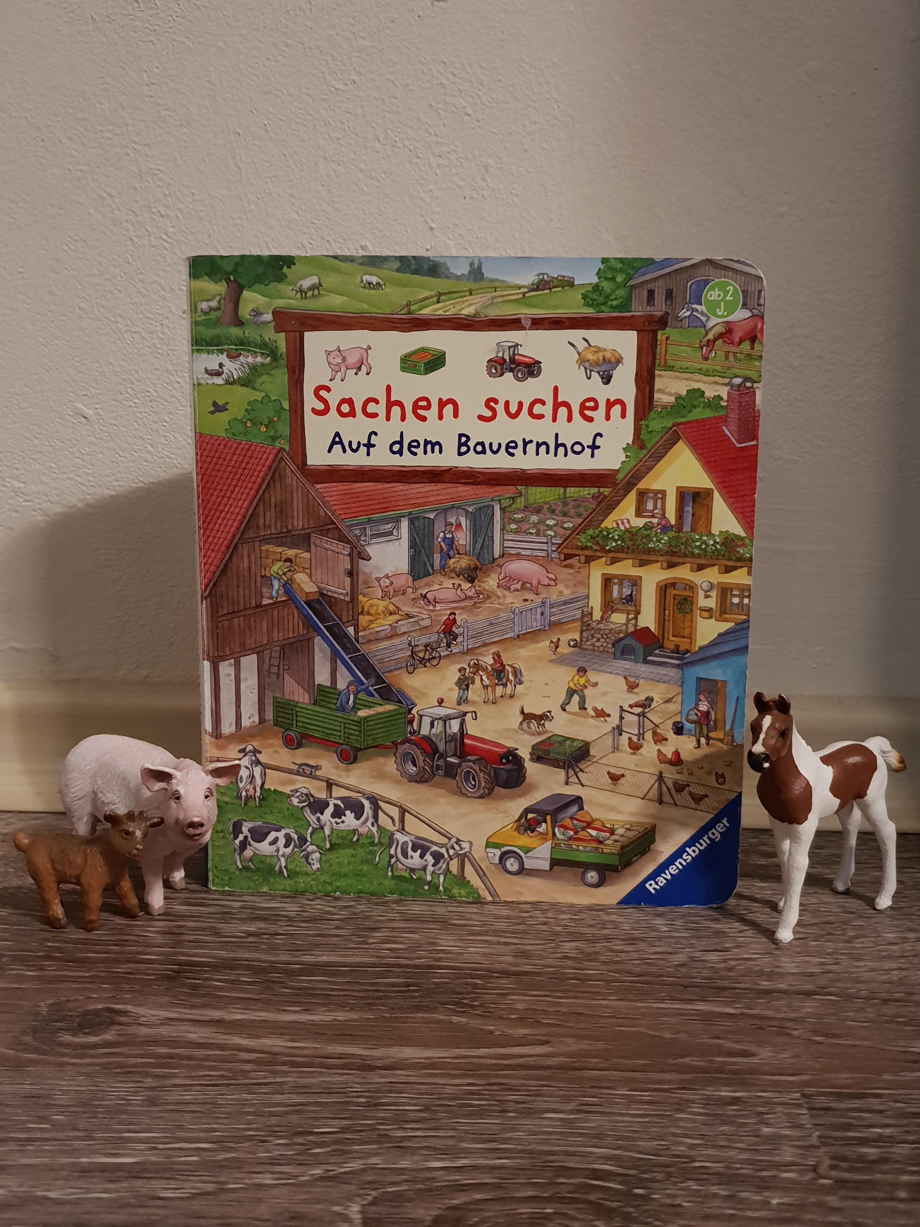 Sachen Suchen Auf dem Bauernhof Ravensburger Verlag