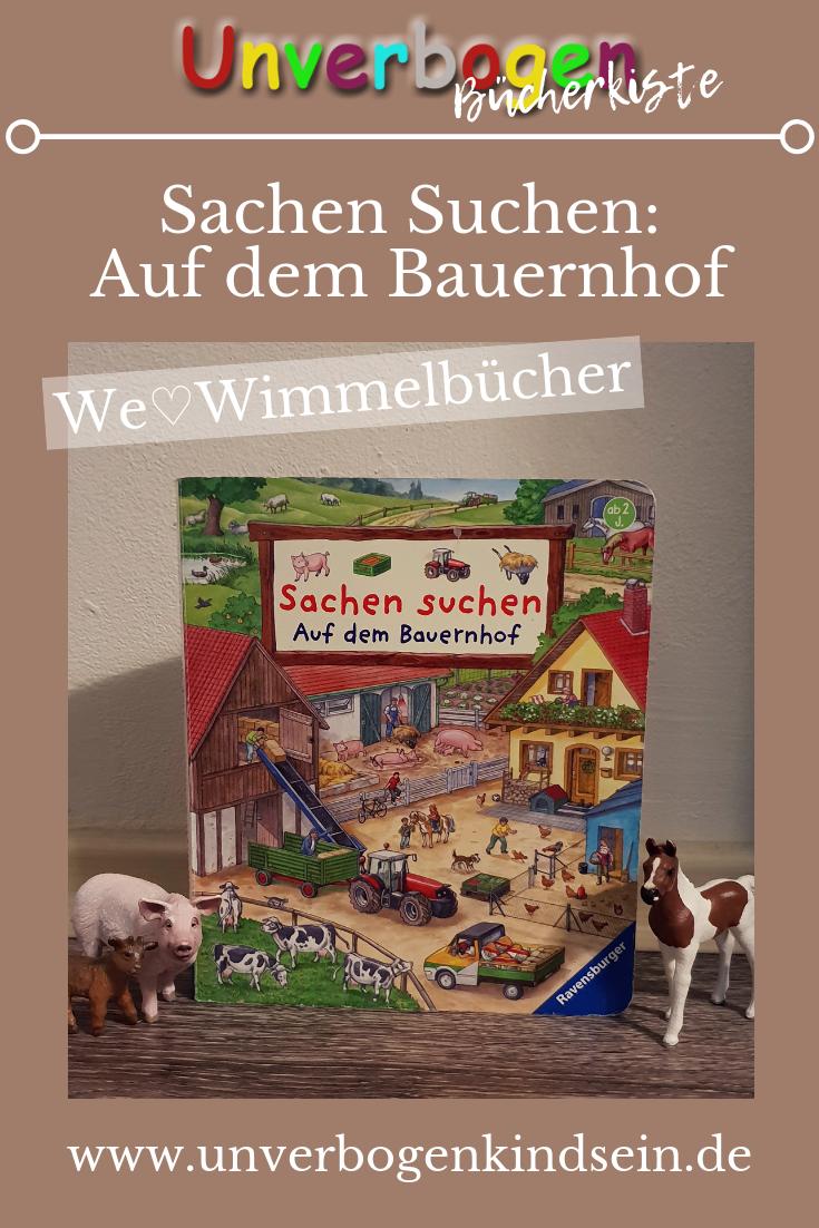 Unverbogen Bücherkiste| Sachen Suchen: Auf dem Bauernhof #Buchrezension #Buchvorstellung #Kinderbücher