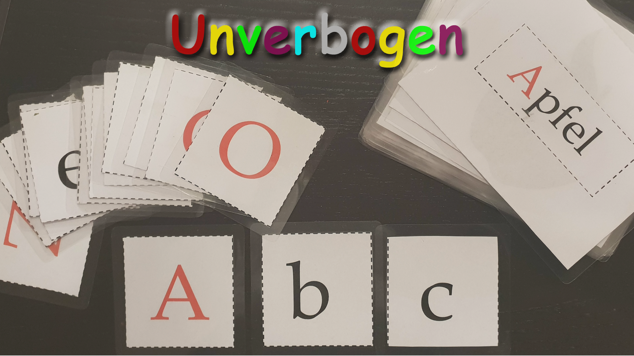 Buchstaben Lernen Lernkarten