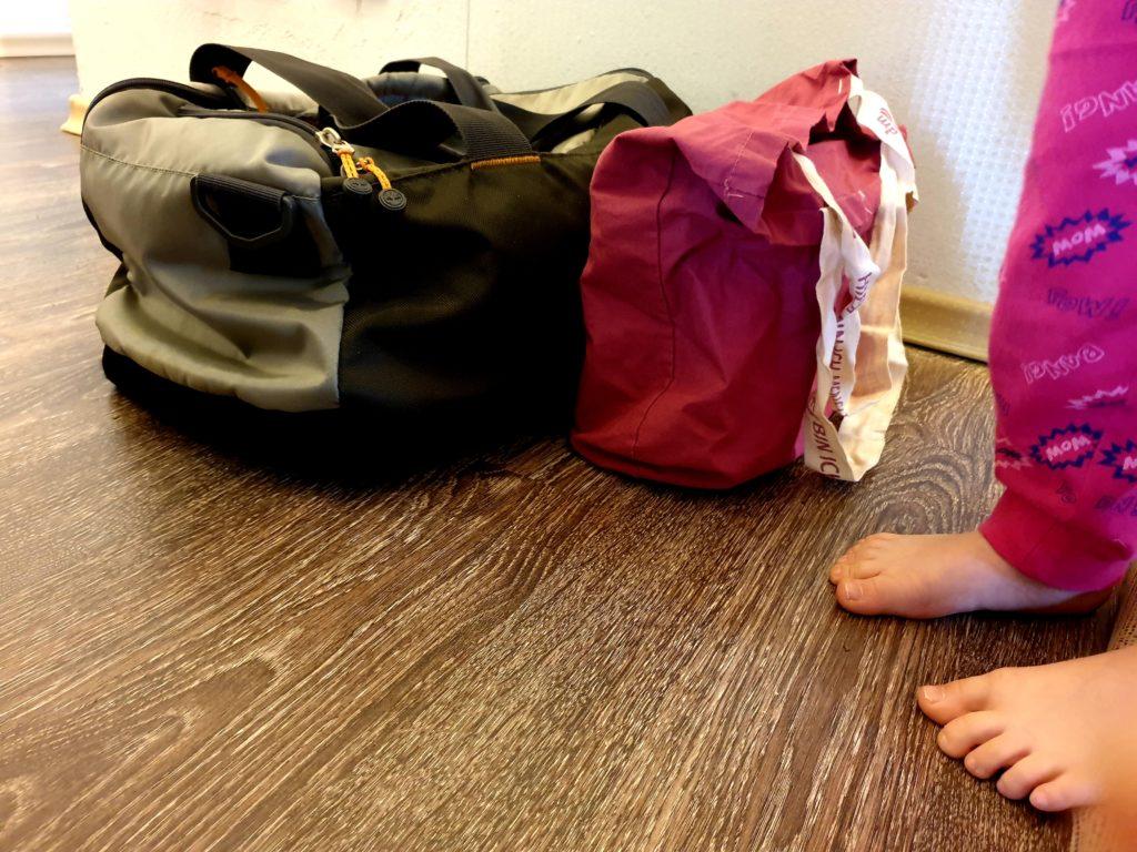 Wochenende in Bildern 03/2019 Samstag Unser Kind wird abgeholt