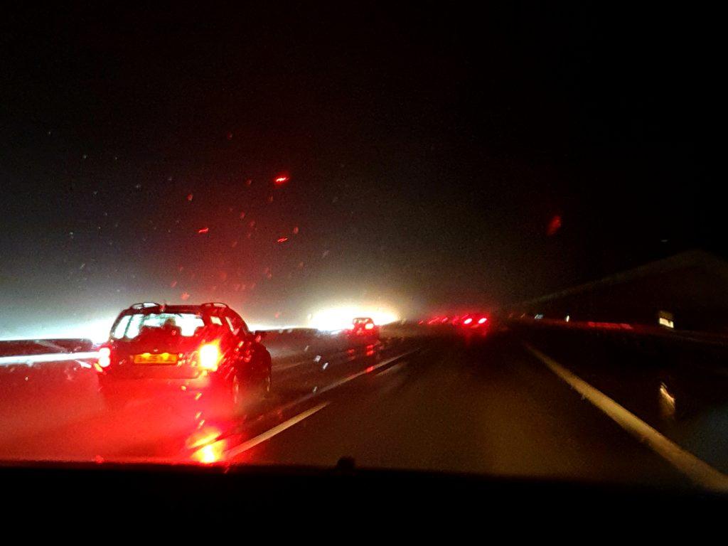 Wochenende in Bildern 03/2019 Sonntag Heimfahrt Autobahn