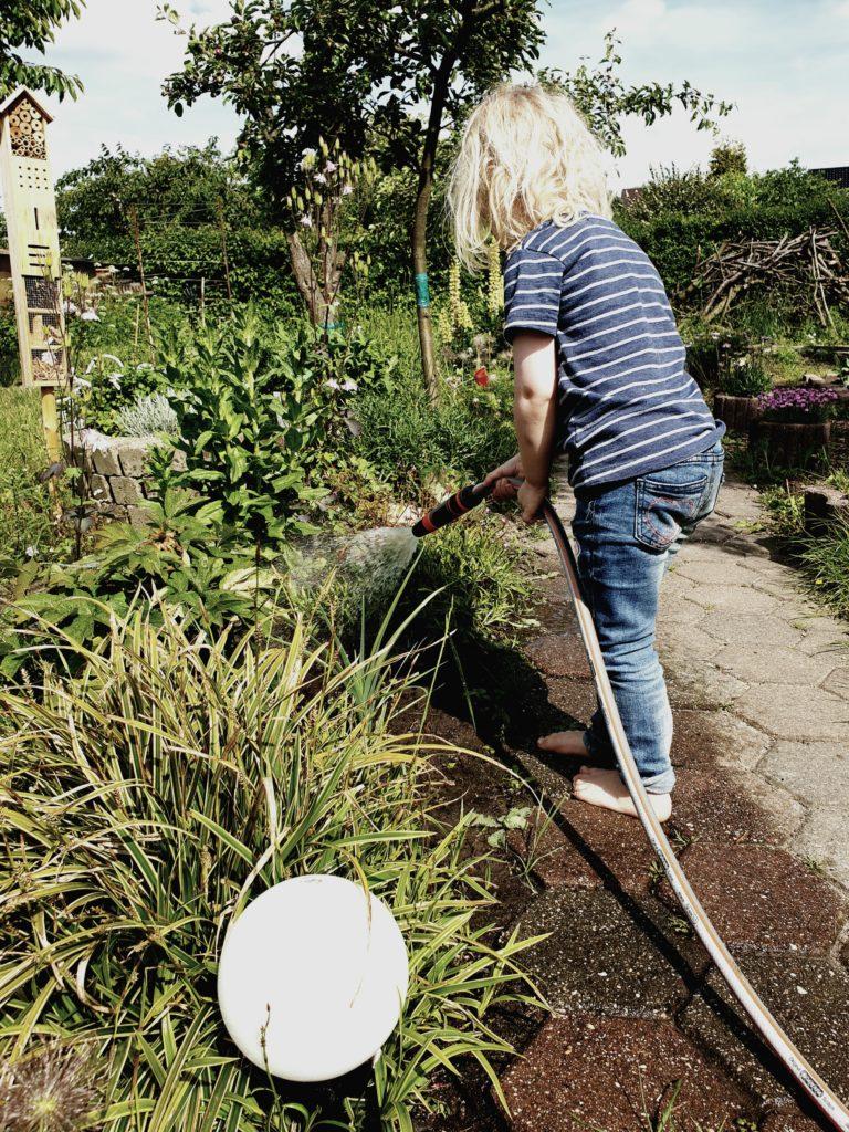 Gartenarbeit: Im Garten gibt es Regeln