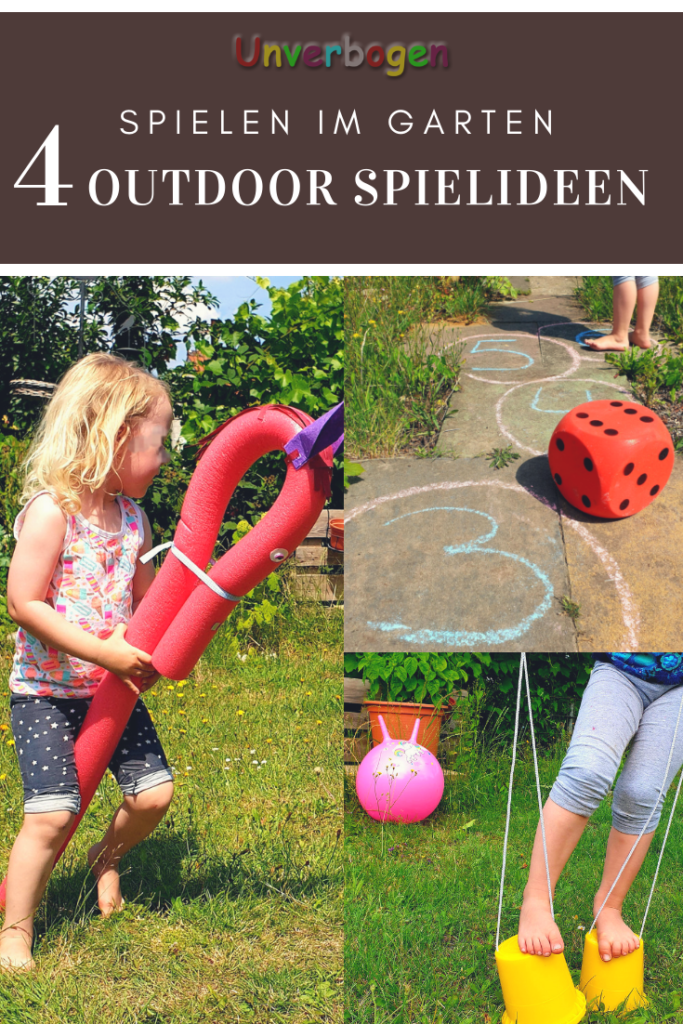 Outdoor Spielideen 4 Ideen für den Garten