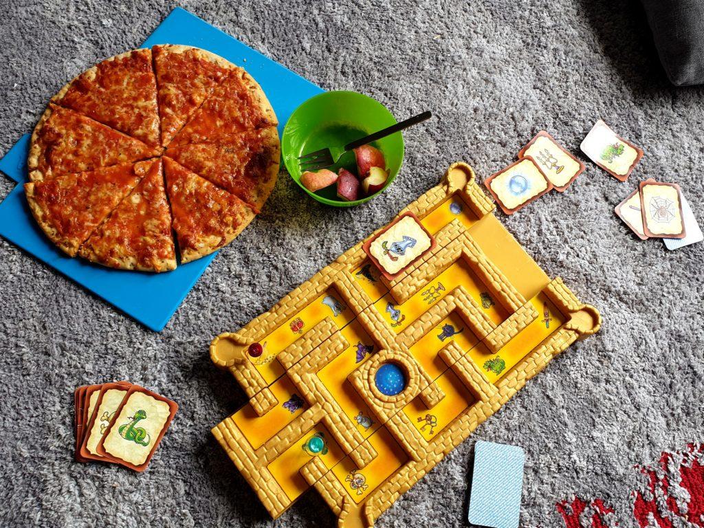 Spielnachmittag mt Pizza