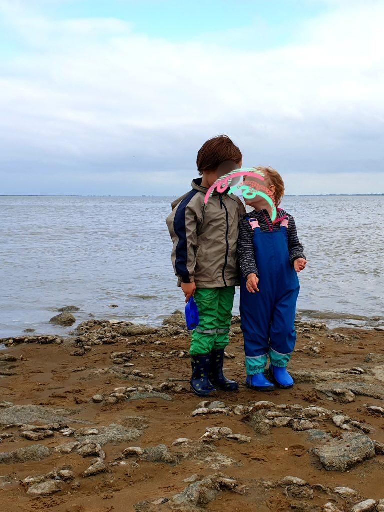 Beste Freunde - N und E am Meer