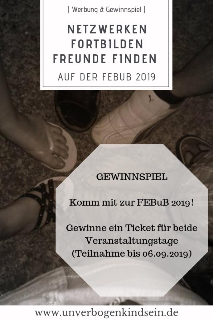 Werbung | Komm mit zur FEBuB 2019! Gewinnspiel #Gewinnspiel #febub #Bindungsorientierung #Elternschaft #Bindung #Beziehung #Werbung Teilnahme bis 06.09.2019 Sei dabei!