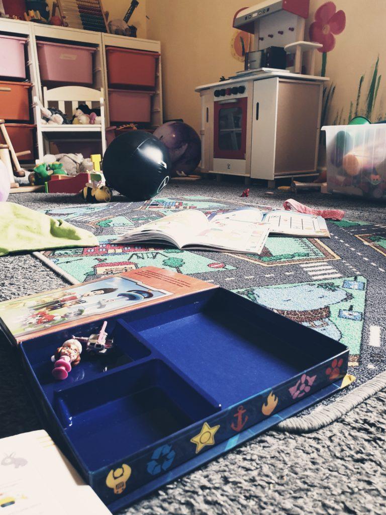 Vorher: Chaos im Kinderzimmer