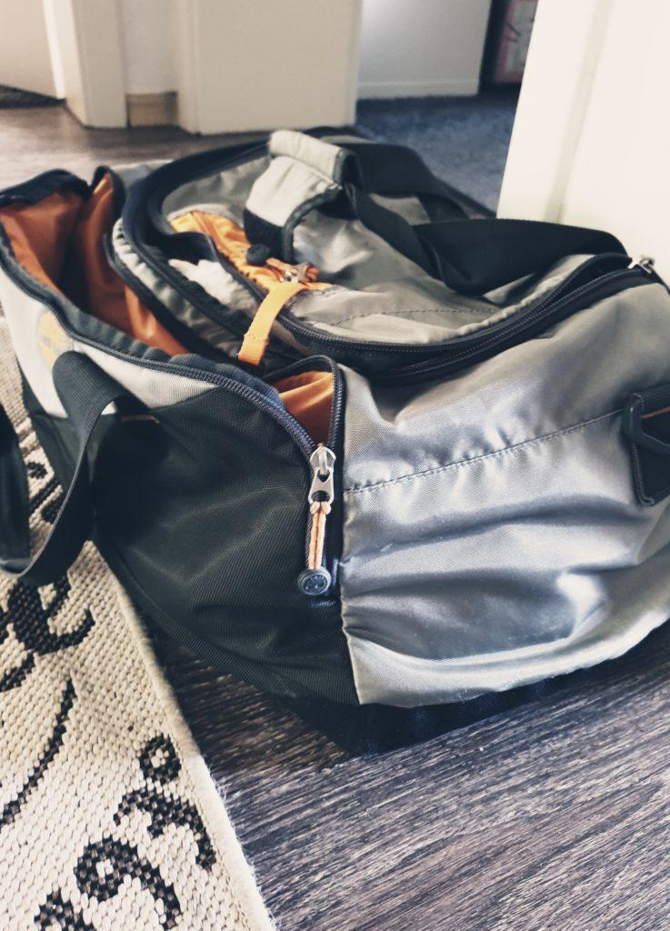 Die Reisetasche ist gepackt!