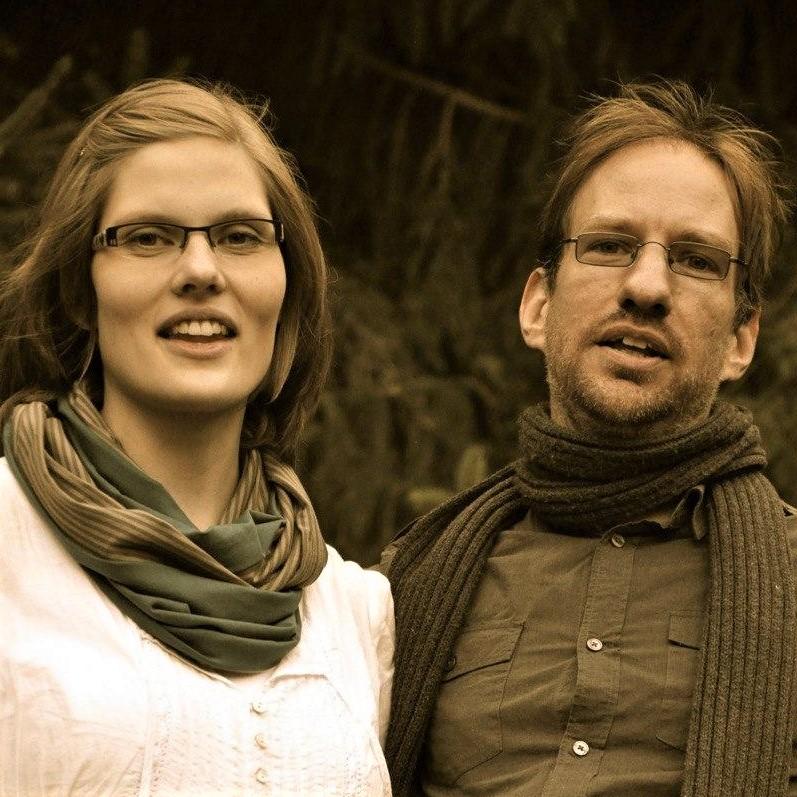 Oliver Leiste (re) mit seiner Frau Julia