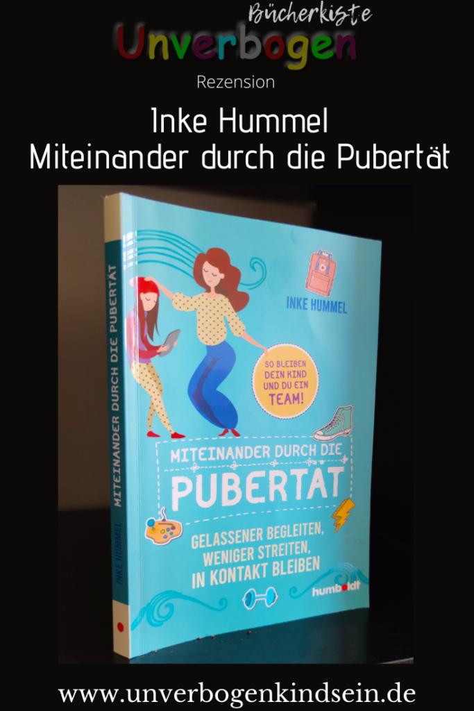 Inke Hummel MIteiander durch die Pubertät Rezension #buch #elternratgeber #teenager #pubertät