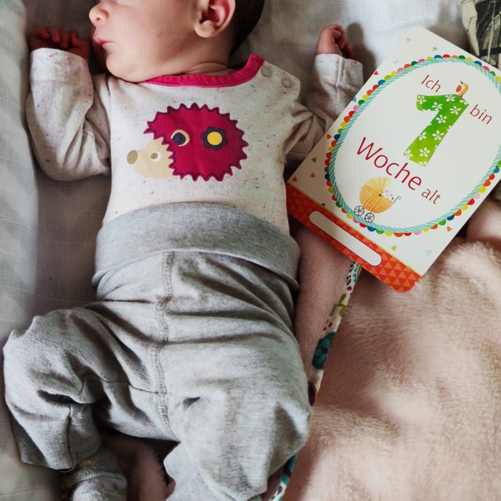 Babylili mit einer Woche