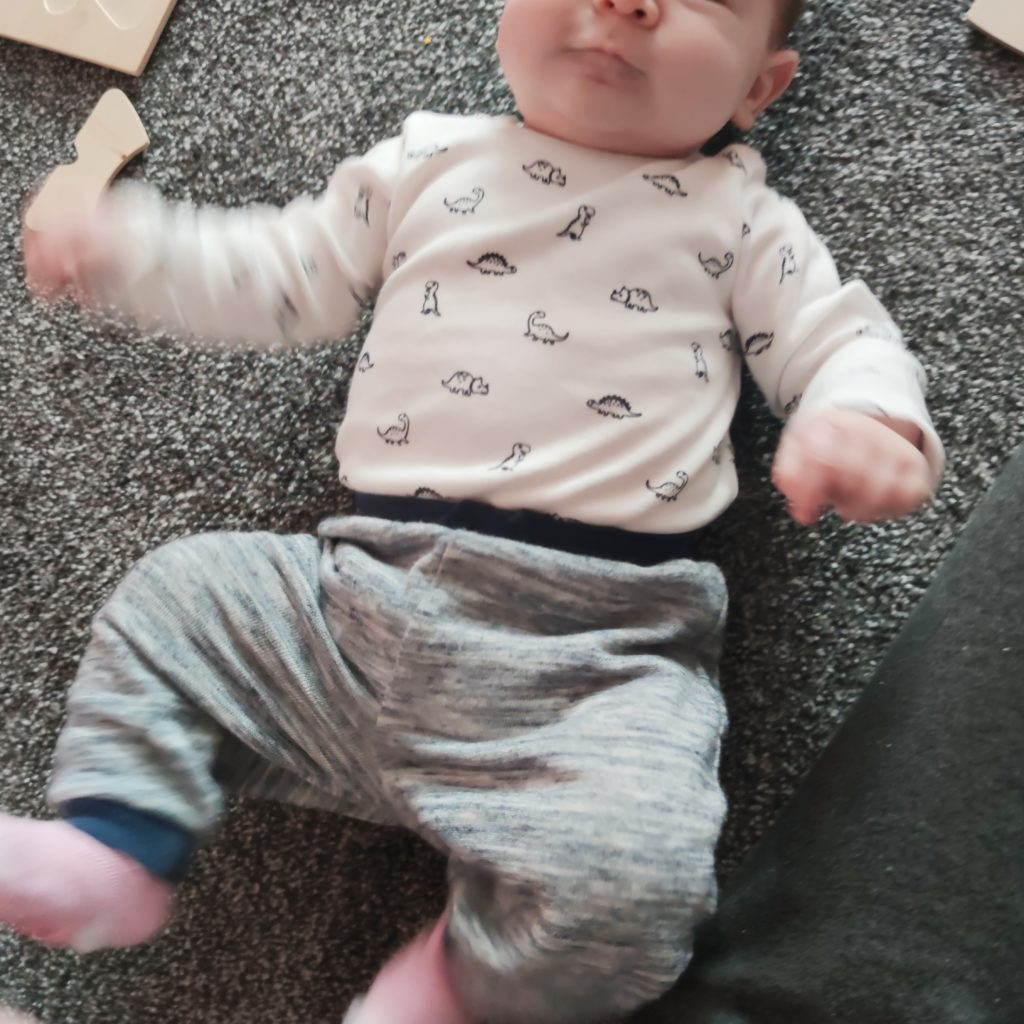 Babylili mit zwei Monaten