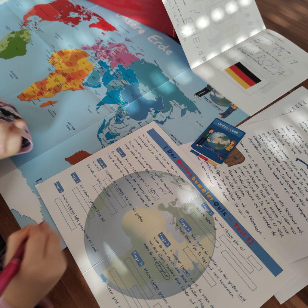 lukas und lara auf tour Aktionskarte